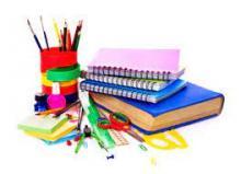 Material escolar para el curso 21-22