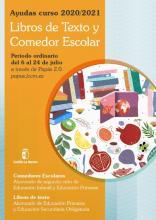 Ayudas Curso 20-21 Libros de Texto y Comedor Escolar