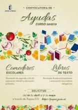 CONVOCATORIA AYUDAS DE LIBROS Y COMEDOR